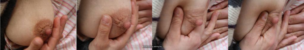 handkolven als je borstvoeding geeft