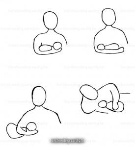 Borstvoeding voedingshouding