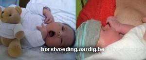 Borstvoeding: Hongersignalen pasgeboren baby