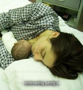 Borstvoeding, samen slapen met baby