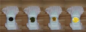 Baby groene ontlasting krampjes