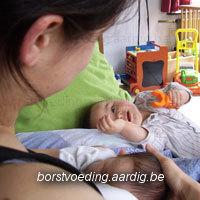 Borstvoeding baby