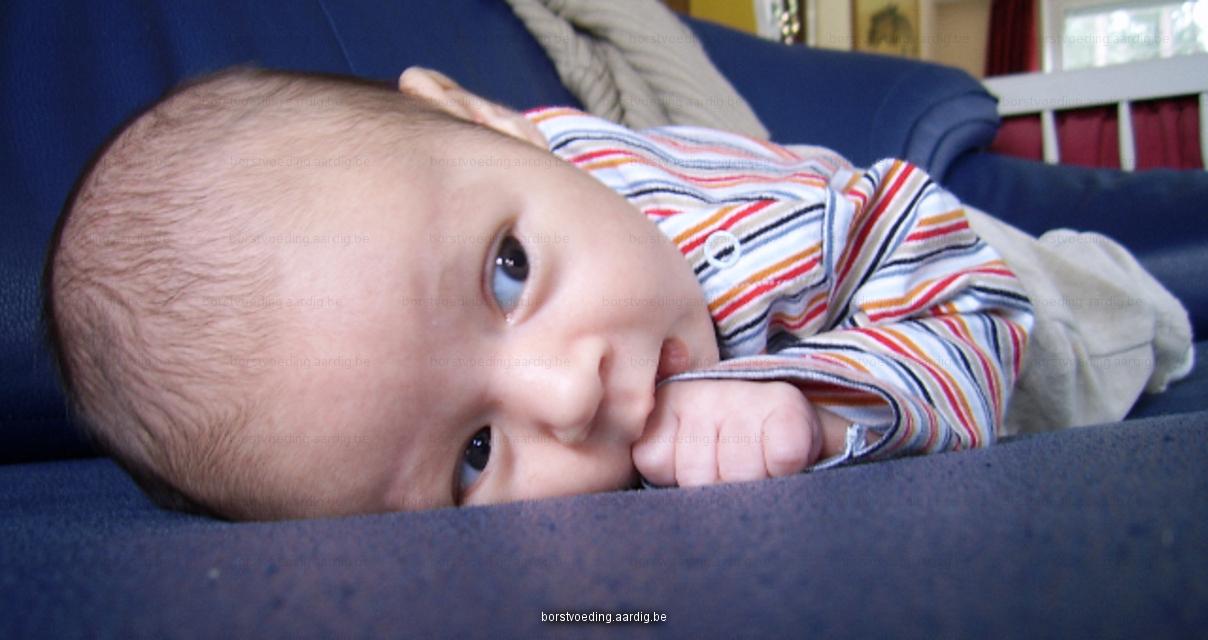 Hongersignaal baby