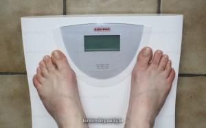 Weegschaal: gewicht van mama bij borstvoeding