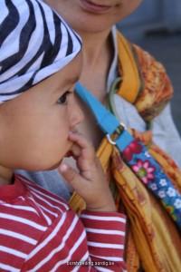 Borstvoeding hongersignaal baby