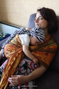 Borstvoeding, samen slapen